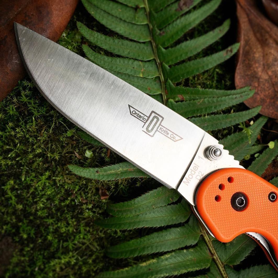Foto de canivete Ontario RAT 1
